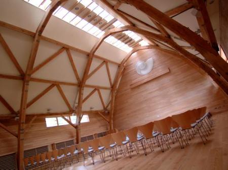 The Oak Room at Sheepdrove Eco Conference Centre